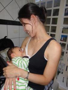 A regra dos 5 s para acalmar o bebê - amamentação