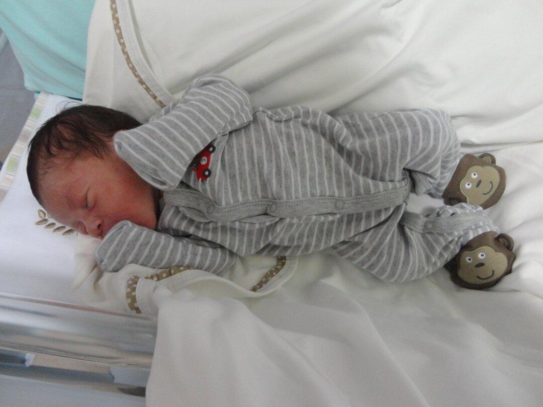 Estêvão nasceu de parto natural humanizado