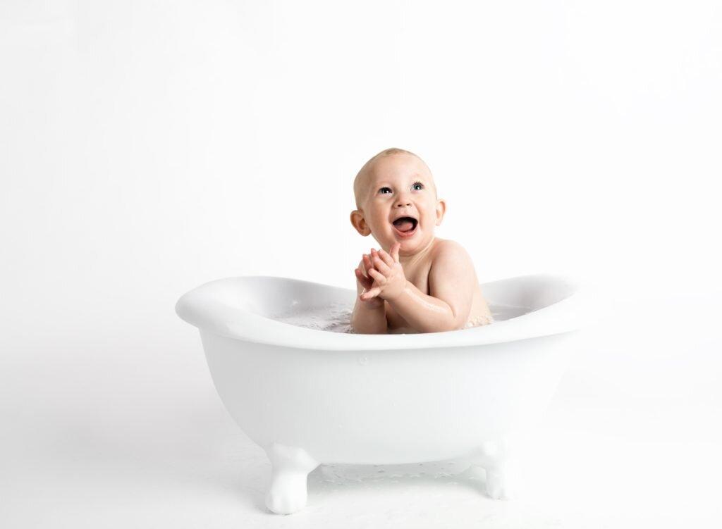 Como economizar no enxoval do bebê - banho