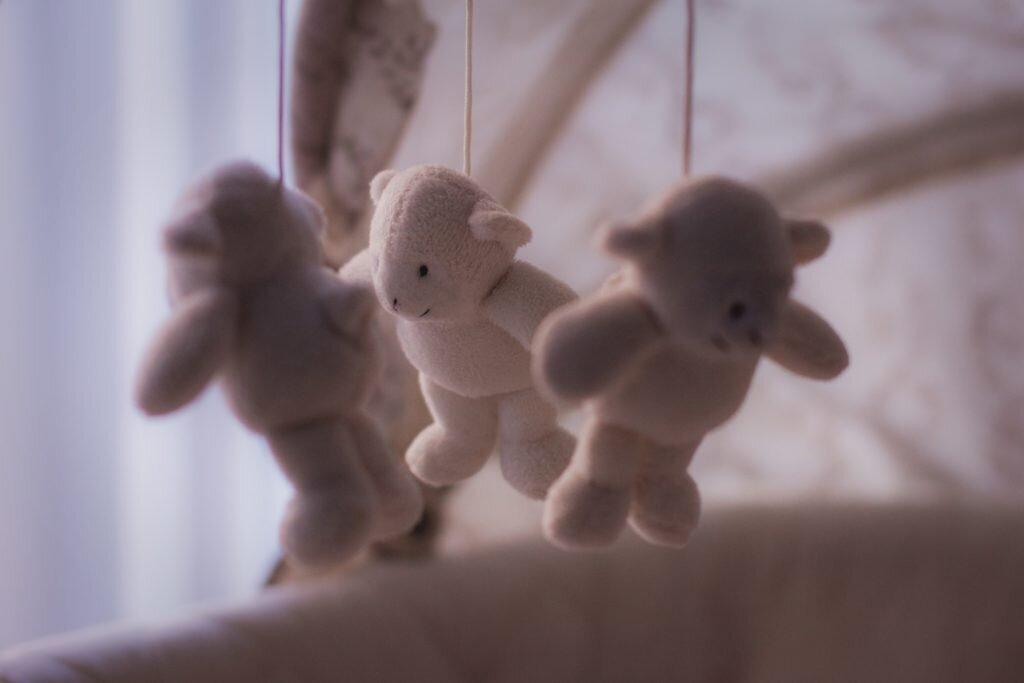Como economizar no enxoval do bebê - móbile
