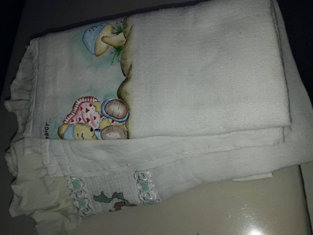 Acessório indispensável no enxoval do bebê: fralda de pano
