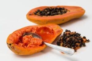 Alimentação: mamão papaya