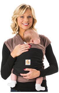A regra dos 5 s para acalmar o bebê - wrap sling da Ergobaby
