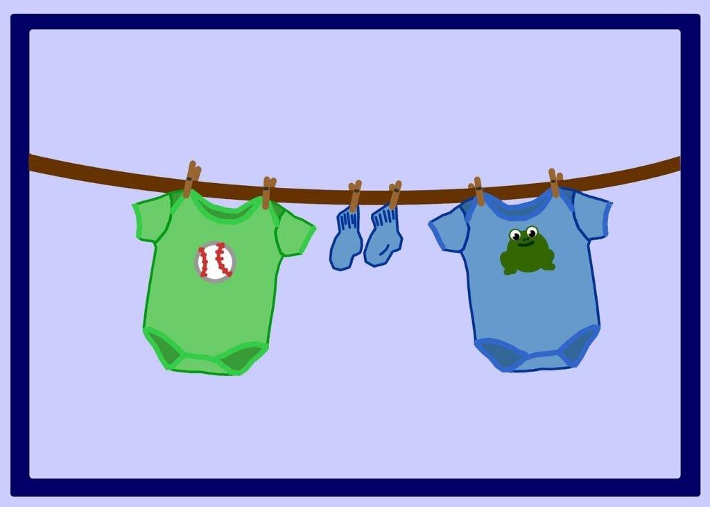 O que levar na mala de maternidade - bodies e meias