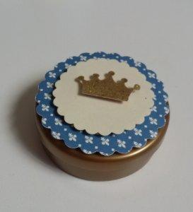 Festa de Príncipe: latinhas personalizada