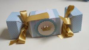 Festa de Príncipe: caixa bala personalizada