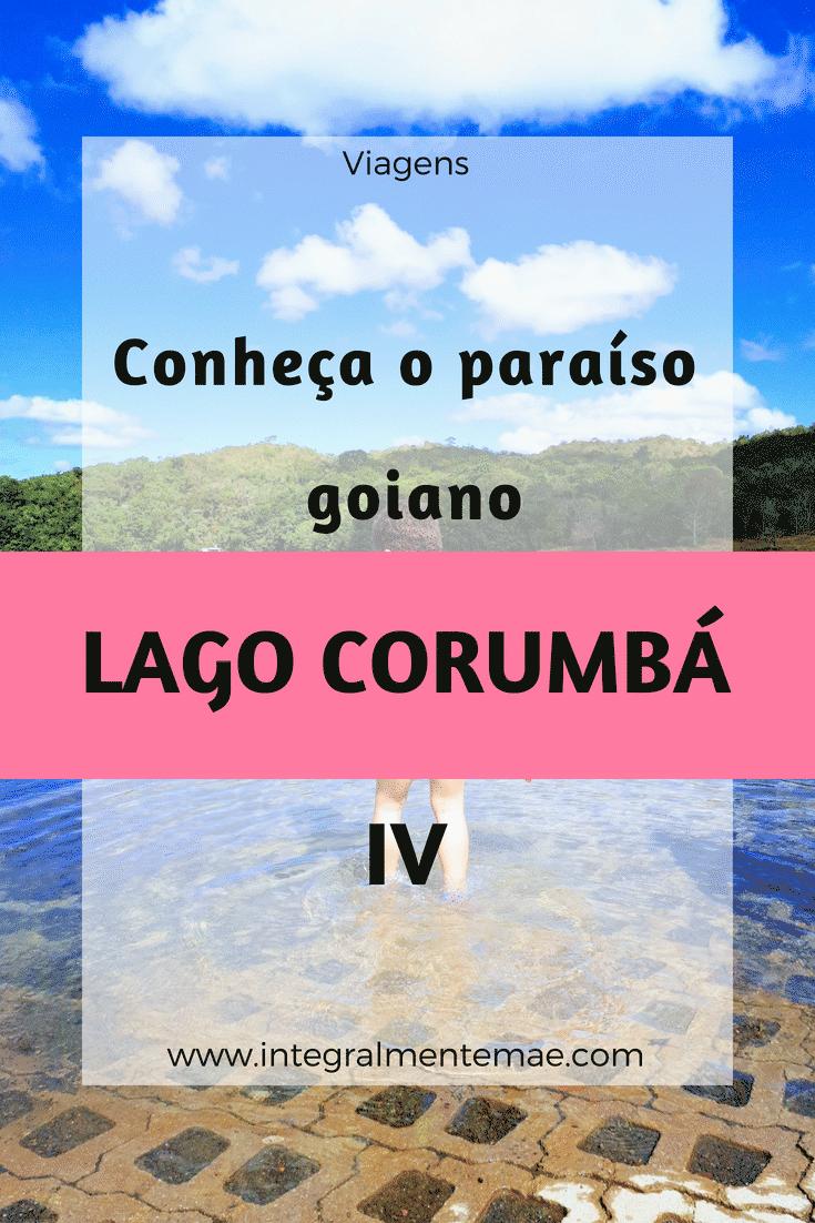 Conheça o paraíso goiano - lago corumbá IV