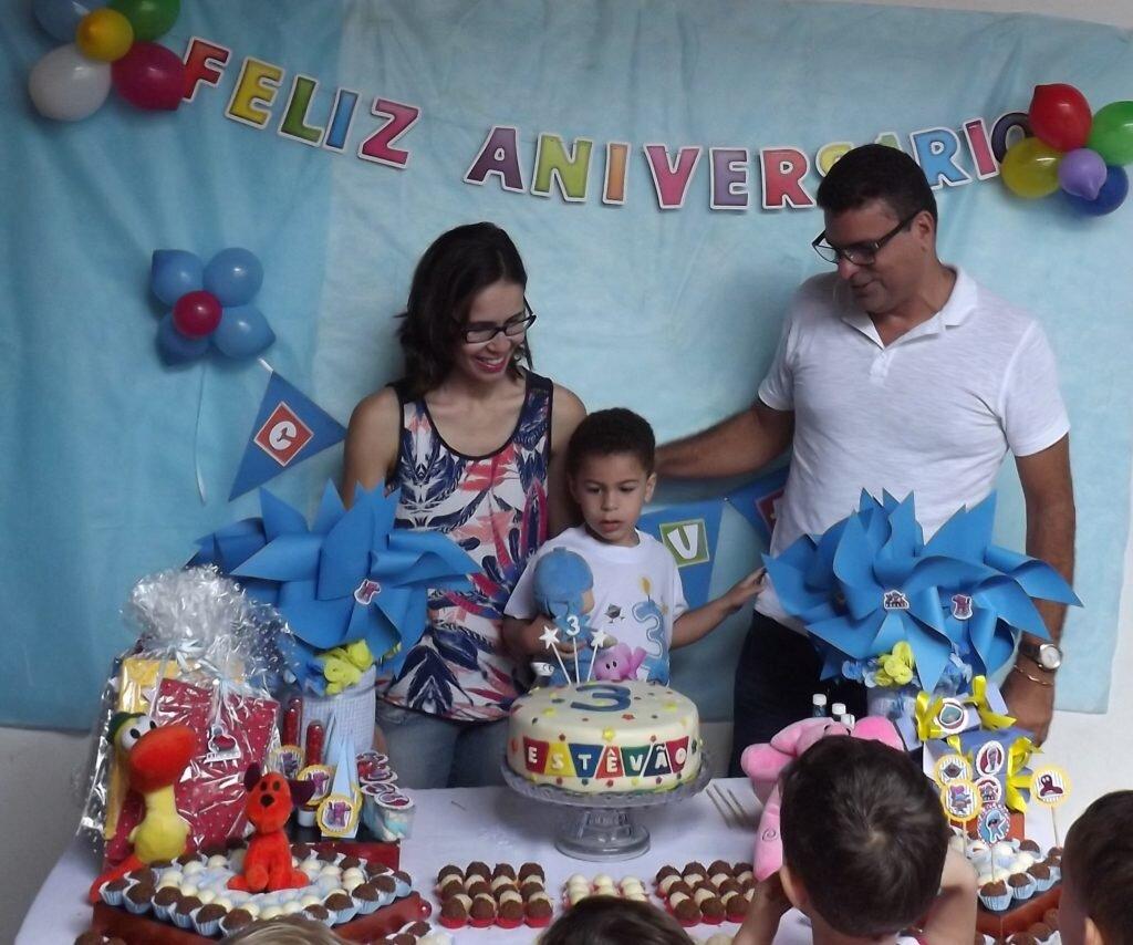 Festa de aniversário do pocoyo-Hora do parabens
