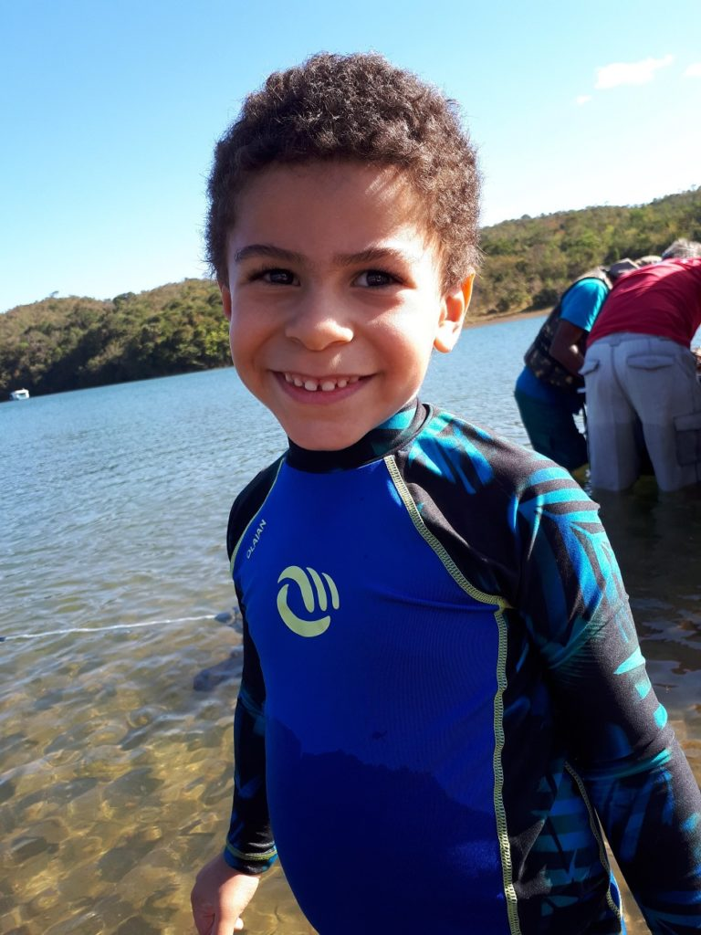 Passeio no lago corumbá IV-Estevao