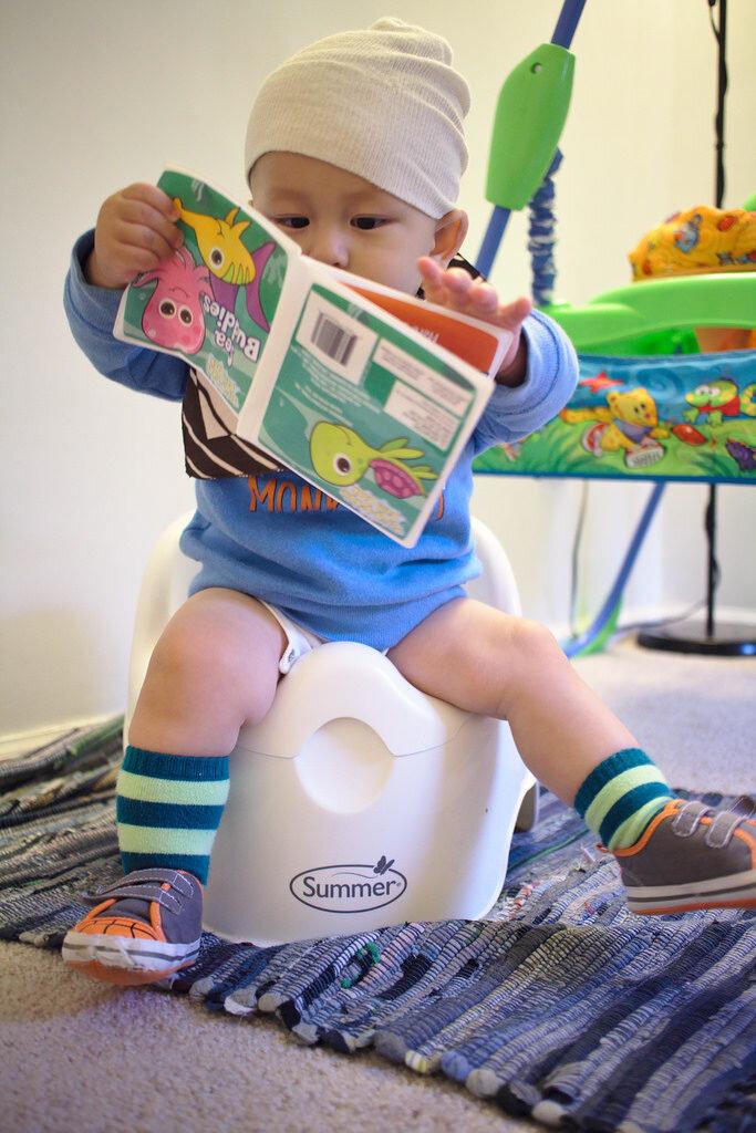Guia Prático para o desfralde infantil - bebês