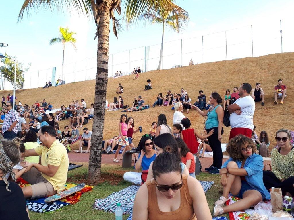 Como aproveitar os parques de Goiânia com as crianças - piquenique Parque Marcos Veiga Jardim 4