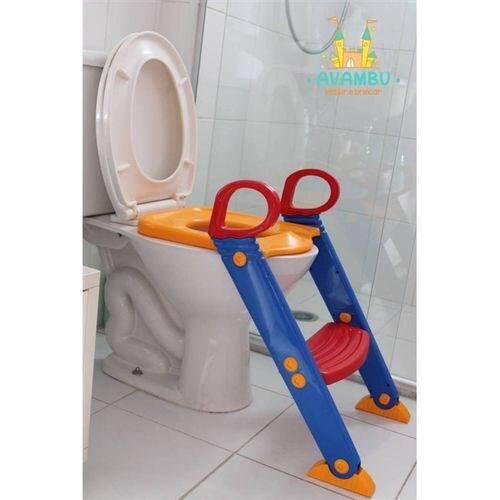 Guia prático para o desfralde infantil - escada com redutor de assento 2