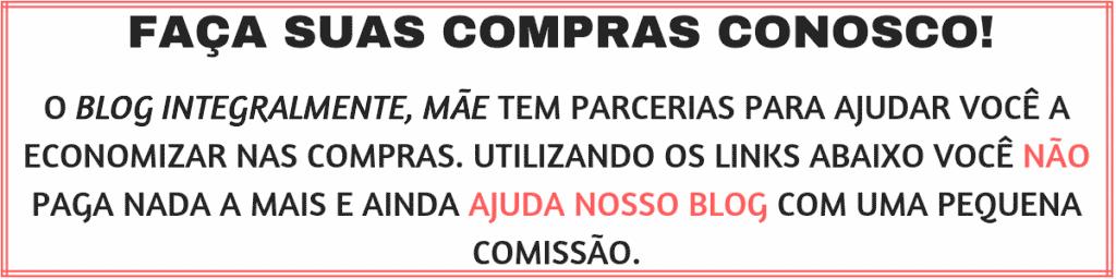 FAÇA SUAS COMPRAS CONOSCO!