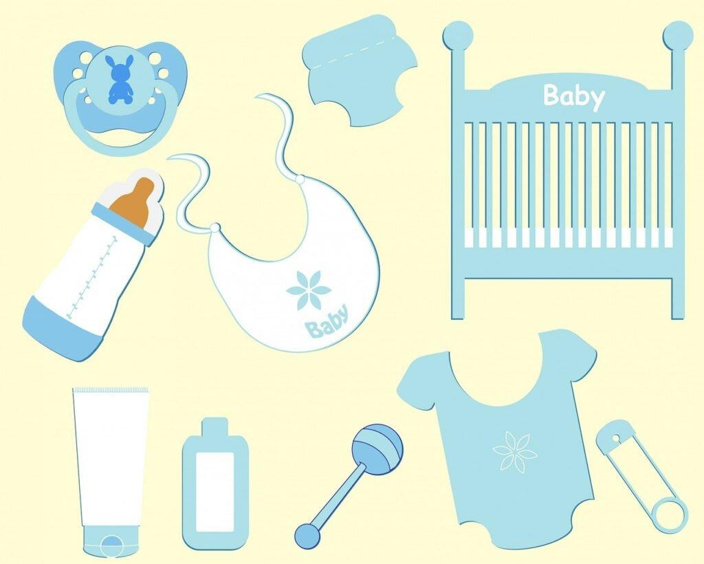 Itens para organizar a bolsa do bebê