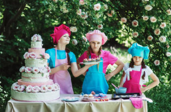 Festa infantil cozinheiros