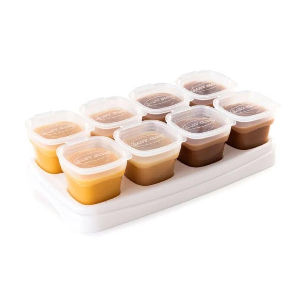 Utensílios na alimentação do bebê – kit potes de armazenamento Kakababy