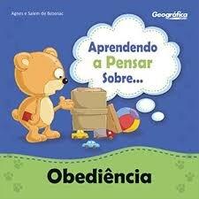 coleção aprendendo a pensar sobre obediência
