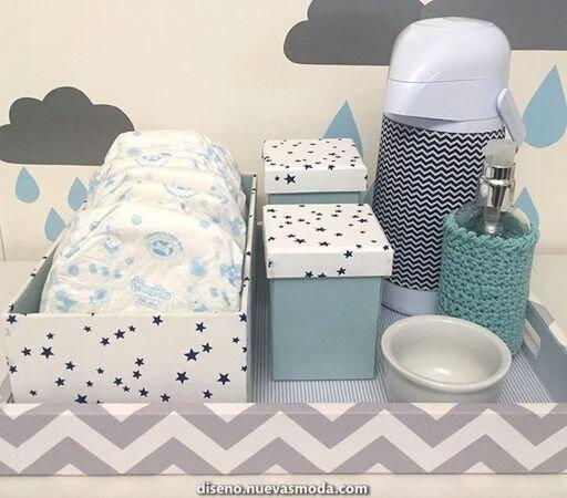 Kit de higiene nuvem