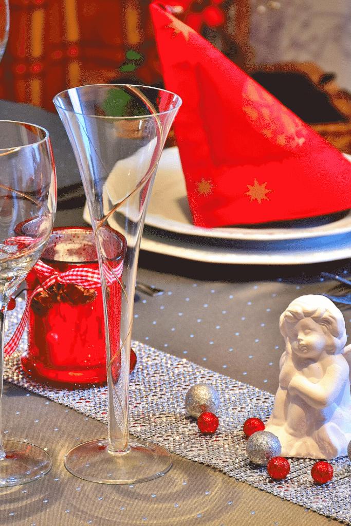 Decoração da ceia de natal – mesas 1