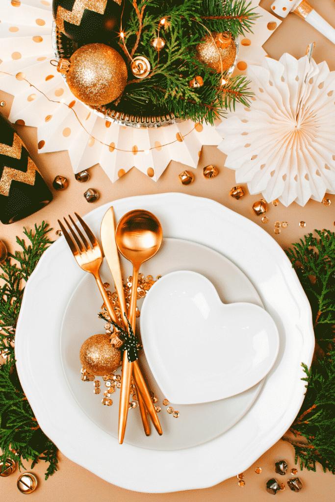 Decoração da ceia de natal – mesas 3