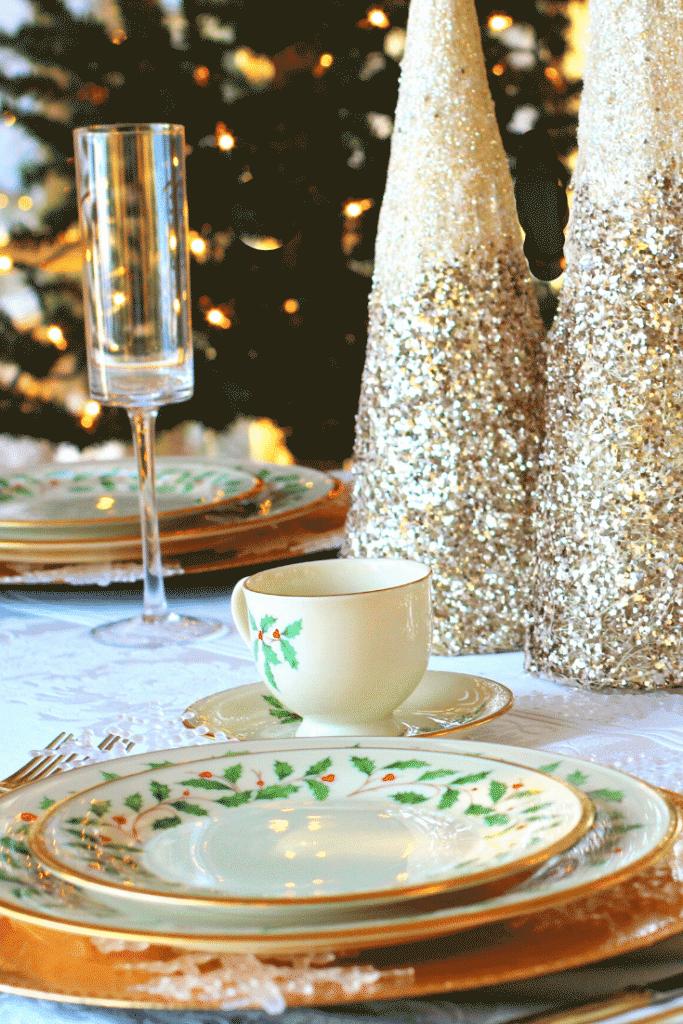 Decoração da ceia de natal – mesas 4