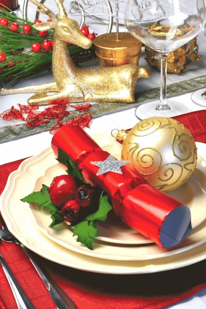 Decoração da ceia de natal – mesas 5