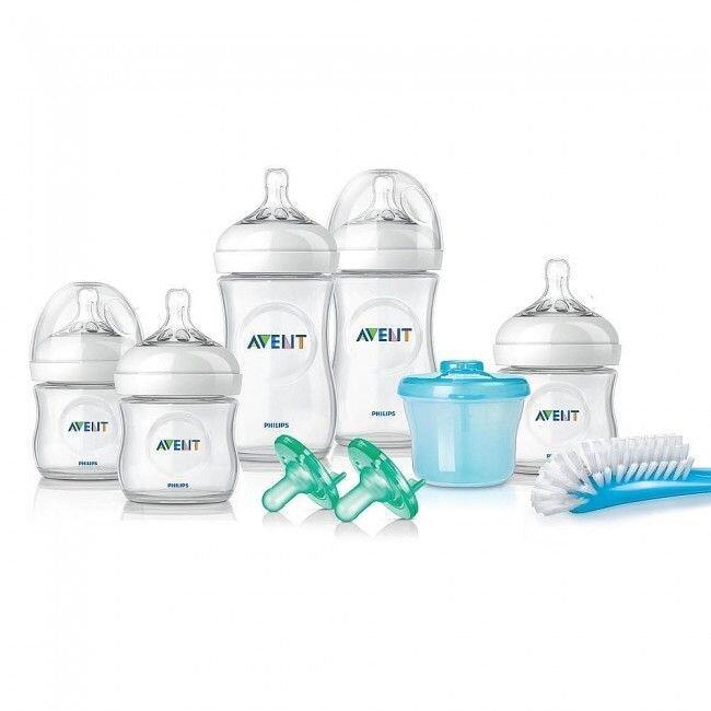Kit mamadeiras AVENT – produtos importados para bebês