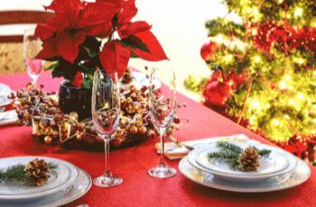 Menu e decoração da ceia de natal