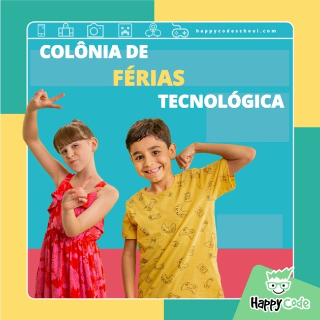 programação de férias-Goiânia-Happy-Code