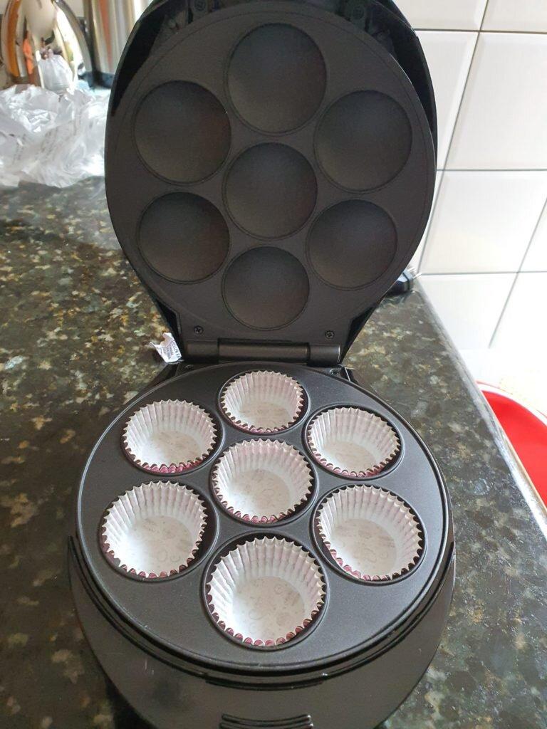 máquina de cup cake